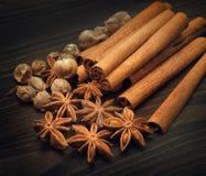 Épices aromatiques image stock