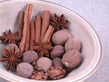 Épices aromatiques Images libres de droits