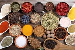 Épices aromatiques Image libre de droits