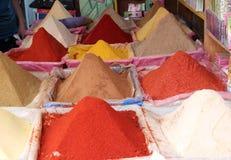 Épices au Maroc Photo stock
