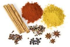 Épices colorées Image stock
