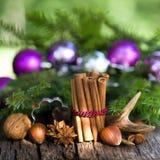 Épices de Noël photographie stock
