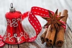 Épices de Noël photos stock