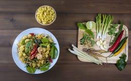 Épices de nourriture thaïlandaise Images libres de droits