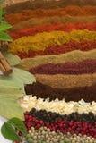 Épices et herbes photos stock