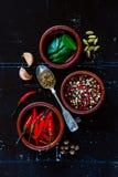 Épices et herbes Image libre de droits