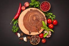 Épices et ingrédients Image stock