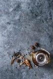 Épices et thé Images libres de droits
