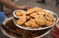 Épices indiennes étant vendues sur la rue Image libre de droits