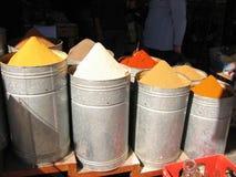 Épices marocaines Images libres de droits