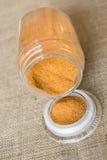 Épices oranges Images libres de droits