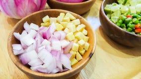 Épices pour faire cuire thaïlandaise images libres de droits