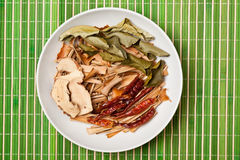 Épices pour le potage de Tom Yum Image libre de droits