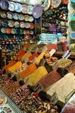 Épices sur le bazar grand Image stock