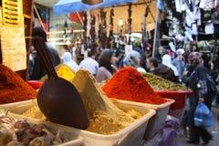Épices sur le marché Photo libre de droits