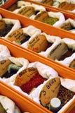 Épices sur le marché Photographie stock