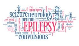 épilepsie illustration de vecteur