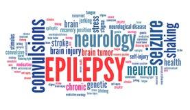 épilepsie illustration libre de droits