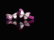 Épingle à cheveux de cristal d'arc Images libres de droits