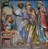 Épiphanie devant Herod image libre de droits