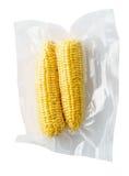 Épis de maïs fermés sous vide Photo stock