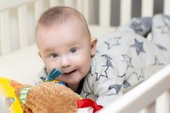 A época da barriga do infante imagem de stock royalty free