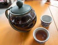 A época da ruptura de chá Imagens de Stock