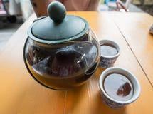A época da ruptura de chá Fotografia de Stock Royalty Free