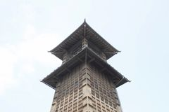Época de Bell en Kawagoe, Saitama Imagen de archivo