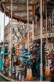 Época de férias em Kyiv imagens de stock royalty free
