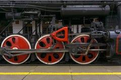 Época de las grandes máquinas del hierro fotografía de archivo