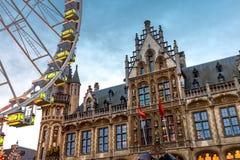 Época dourada Ferris Wheel Fotos de Stock
