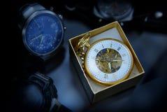 Épocas douradas Foto de Stock Royalty Free