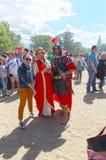 Épocas y épocas Roma antigua Rusia moscú En junio de 2015 foto de archivo