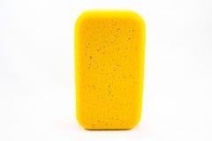 Éponge jaune Photos libres de droits