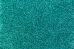 Éponge pour la texture de lavage de plat Photos libres de droits