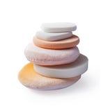Éponges cosmétiques Photos libres de droits