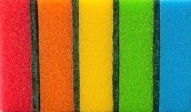 Éponges de nettoyage Photos stock