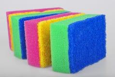 Éponges de nettoyage Photo stock