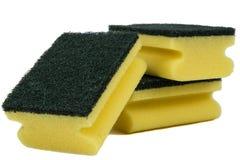 Éponges pour le lavage Images stock