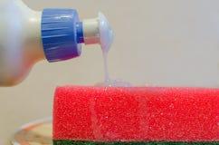 Éponges pour les paraboloïdes de lavage Image libre de droits