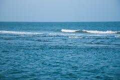 Épopée bleue Thaïlande de vague et d'océan Photographie stock