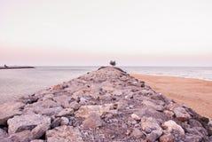 Épopée Thaïlande de pierre et d'océan Photographie stock libre de droits