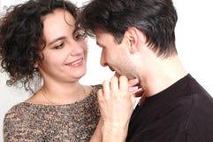 Épouse et mari images libres de droits