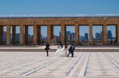 Épouser dans AnitKabir Photo stock