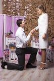 Épouser de beaux couples Photographie stock libre de droits