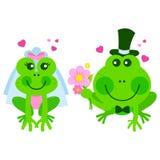 Épouser de grenouilles illustration stock