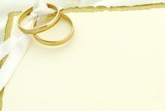 Épouser invitent image stock