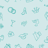Épouser la texture sans couture Photographie stock