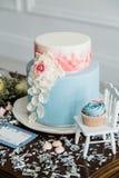Épouser le gâteau doux Photographie stock libre de droits